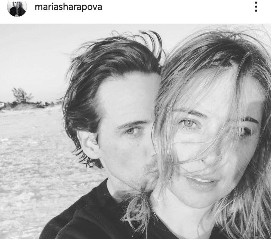 Maria Sharapova presto all'altare, sposerà il fidanzato Alexander Gilkes