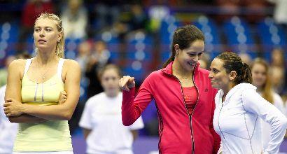 Vinci contro Sharapova: l'atteso incontro si fa realtà