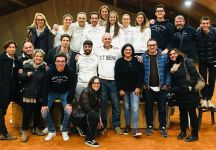 Finale ritorno play-off Serie A2 femminile: UDS Beinasco – Circolo Tennis Siena 2-3. Siena in Serie A