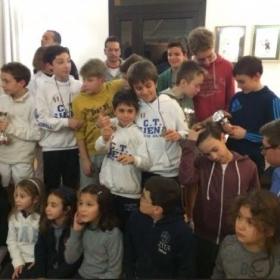 La simpatica iniziativa del CT Siena. Una Coppa Davis tutta speciale