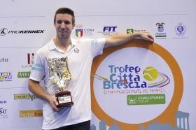 """""""Nel 2016 punto dritto ai top-100. Grazie al pubblico di Brescia, davvero sportivo. Ci vediamo l'anno prossimo!"""""""