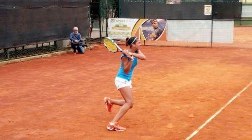 Alessandra Simone nella foto