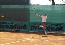 Campionati Italiani 2a Categoria Maschili Tc Presidente: Bene Simoni e Tarallo. Fuori Allgauer