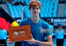 ATP Melbourne (Great Ocean Road Open): Secondo successo in carriera per Jannik Sinner. Stefano Travaglia superato in due set (con il video della partita)