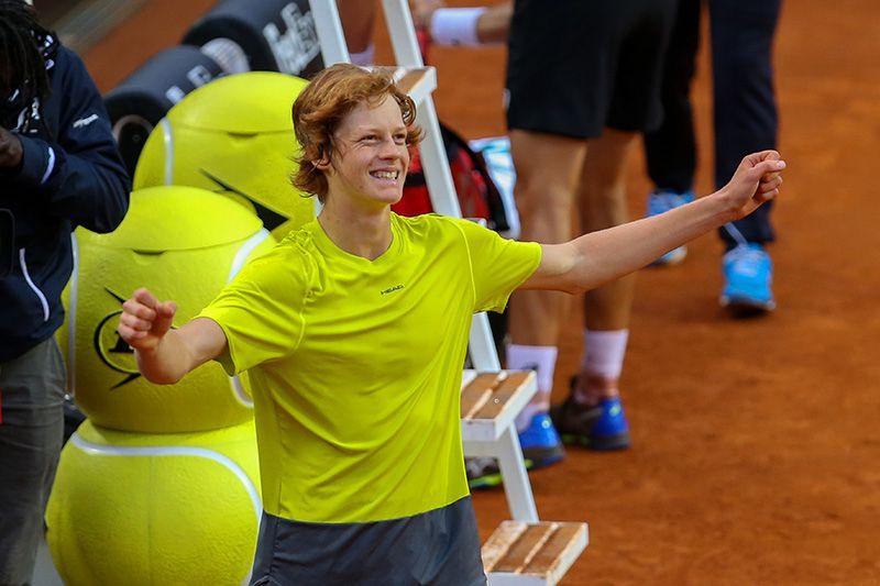 Jannik Sinner classe 2001 e n.199 ATP