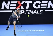 Next Gen ATP Finals: Esteban Cambiasso in tribuna all'Allianz Cloud