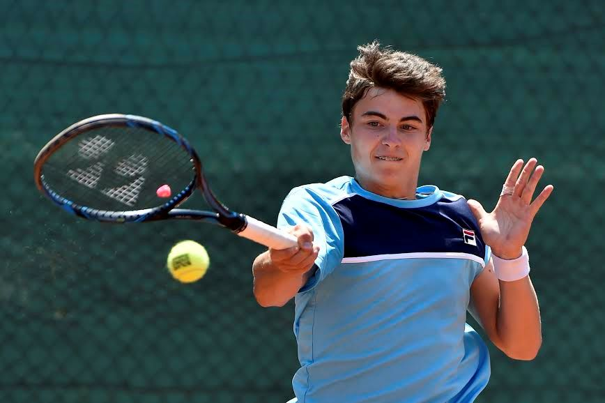 Il russo Timofey Skatov, classe 2001, è il più giovane tra i quattro semifinalisti del tabellone maschile - Foto Francesco Panunzio