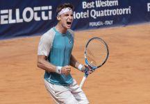 """Da Perugia: Il resoconto di giornata. L'ex n.1 Junior Skatov ai quarti di finale """"Magari un giorno anche in classifica ATP"""" (con il programma dei quarti di finale)"""