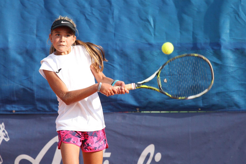 Ana Lanisek, 12 anni dalla Slovenia, sarà in campo domenica nella sfida decisiva contro l'Italia - Foto Alvaro Maffeis