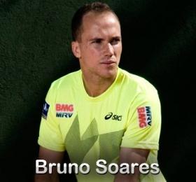 Nella foto Bruno Soares