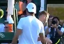 Jack Sock attacca Vincenzo Santopadre, coach di Matteo Berrettini (Video)