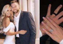 Jack Sock ha sposato ieri Lauren Little, modella
