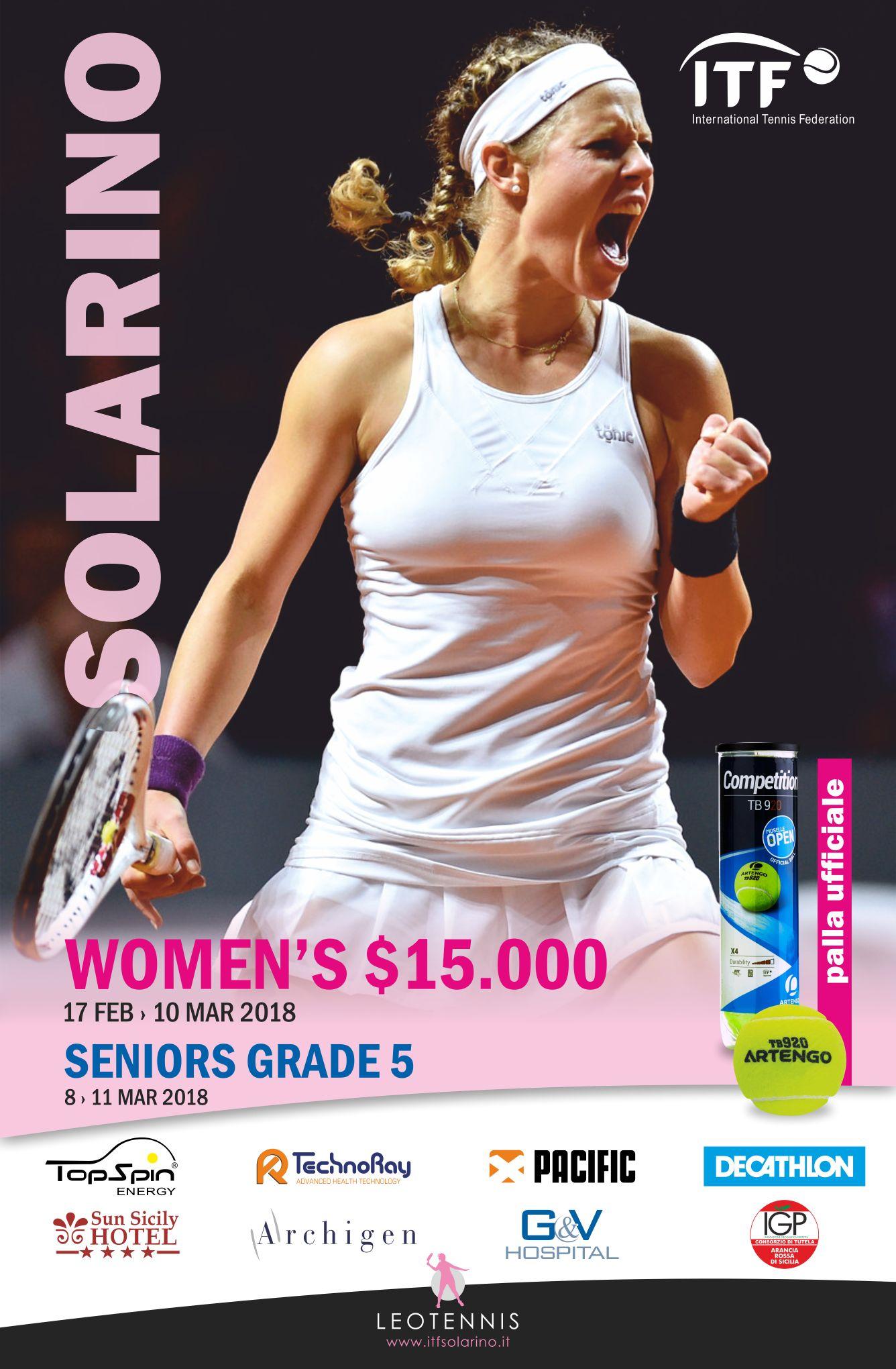A Solarino in arrivo 4 tornei ITF consevutivi dal prossimo mese di Febbraio