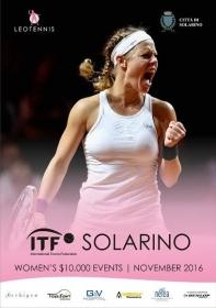 Solarino ed i tre tornei ITF consecutivi a Novembre
