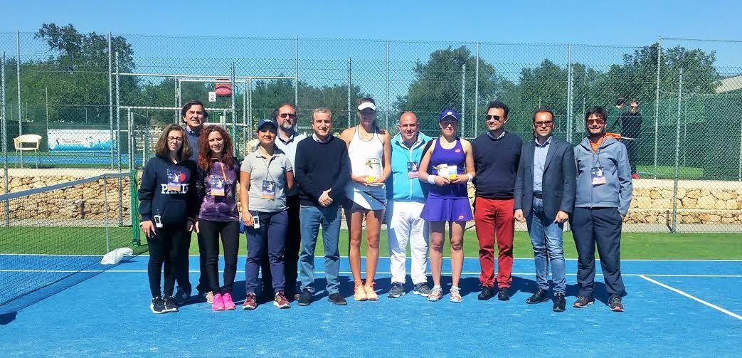 Itf Solarino: Alla russa Paigina la Topspin Energy Cup