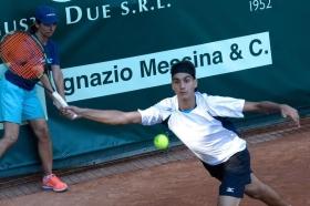 Lorenzo Sonego nella foto - Foto Felice Calabrò