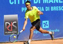 Challenger Manerbio: I risultati con il Live dettagliato del Secondo Turno. Lorenzo Sonego ai quarti di finale. Out Gianluigi Quinzi (Video)