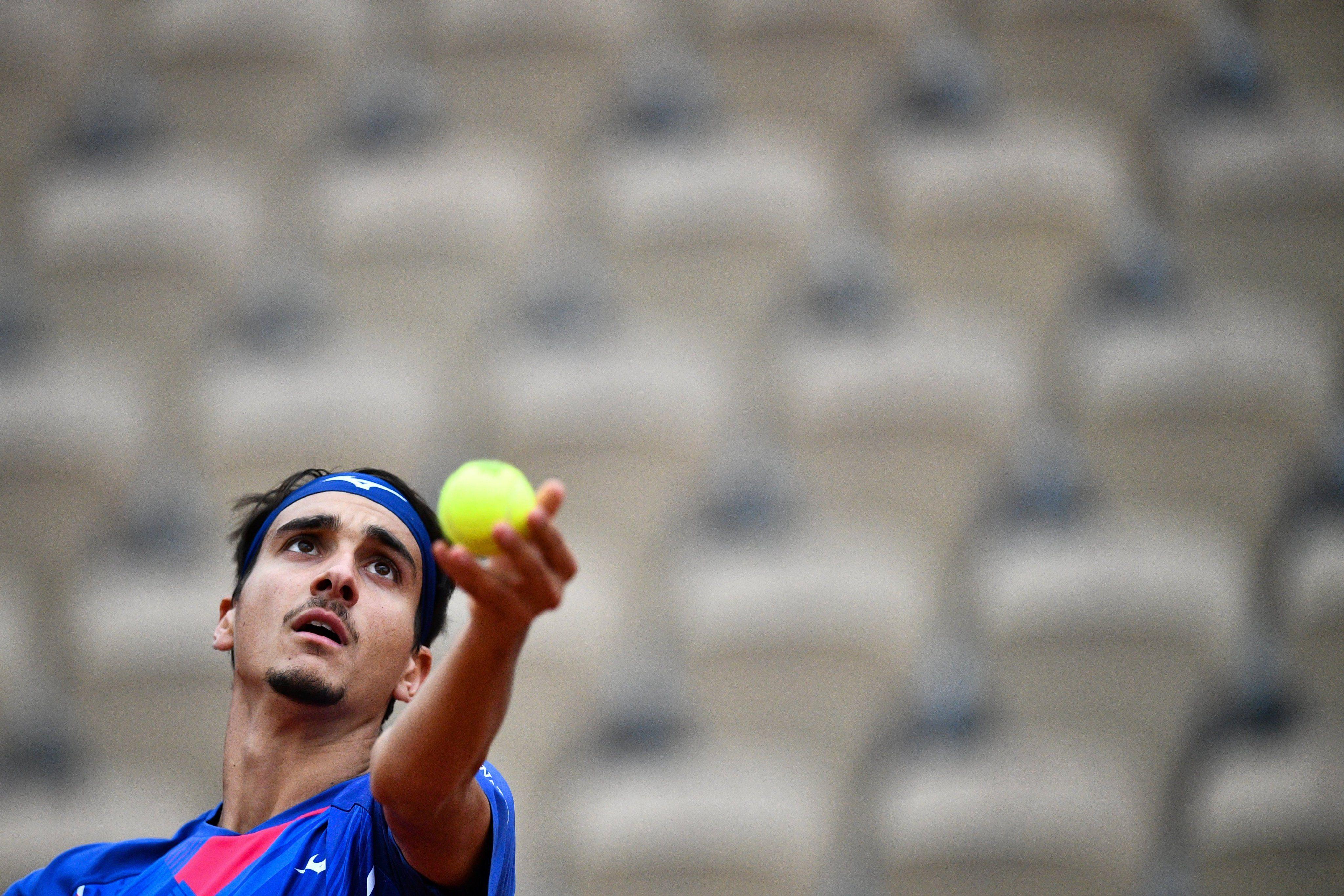 Lorenzo Sonego, oggi in finale a Vienna