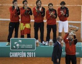 La Spagna ha vinto la Coppa Davis 2011