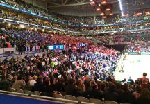 Davis Cup: Nuovo record di spettatori a Lille. Battute anche le presenze di Venerdì