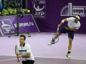 Starace e Bracciali agli ottavi nel doppio all'Australian Open