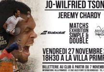 Esibizione tra Tsonga e Chardy a Bordeaux il prossimo 27 novembre