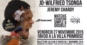 Esibizione tra Tsonga e Chardy a Bourdeaux il prossimo 27 novembre