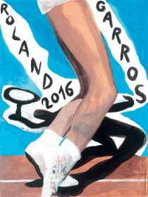 La locandina del Roland Garros 2016