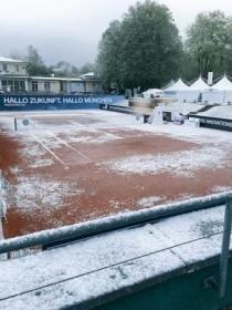 Ed arrivò la neve a Monaco di Baviera