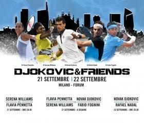 Djokovic & Friends: Ci sarà anche Fabio Fognini