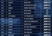 Calendario ATP 2020: Ecco gli eventi fino alla fine dell'anno