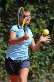Lorenza Stefanelli saluta il torneo Bonfiglio - FOTO FRANCESCO PANUNZIO