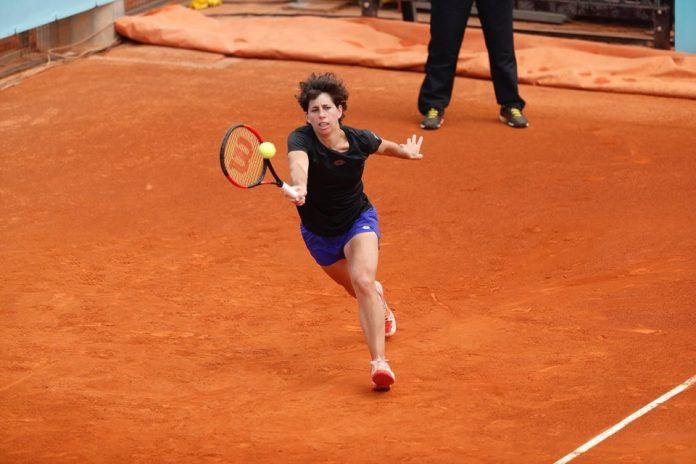 Carla Suarez Navarro nella foto