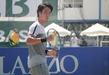 Yuichi Sugita e i complimenti di Roger Federer