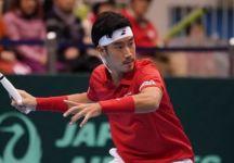 Davis Cup – Giappone vs Italia 1-1: Andreas Seppi rimonta e si procura un match point nel quinto set, poi  spegne la luce nel tiebreak decisivo. Yuichi Sugita rimette in discussione in passaggio del turno
