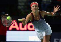 WTA Dubai e Budapest:  Elina Svitolina batte la Wozniacki e conquista il torneo e la top ten. In Ungheria finale tra Babos e Safarova