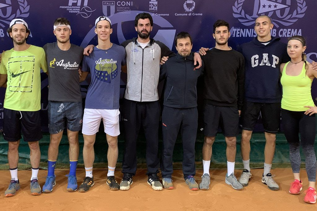 """Giuseppe """"Beppe"""" Menga, 43 anni, responsabile della scuola tennis e del settore full time del Tennis Club Crema (foto GAME)"""