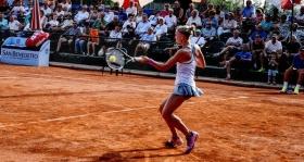 Nella foto Jil Belen Teichmann, classe 1997, n.515 WTA