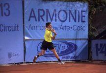 """Maxime Teixeira parla del match disputato ieri con Filippo Baldi a Modena: """"Ho avuto paura di vincere il match, e sprecata l'occasione lui ha iniziato a giocare sempre meglio"""""""