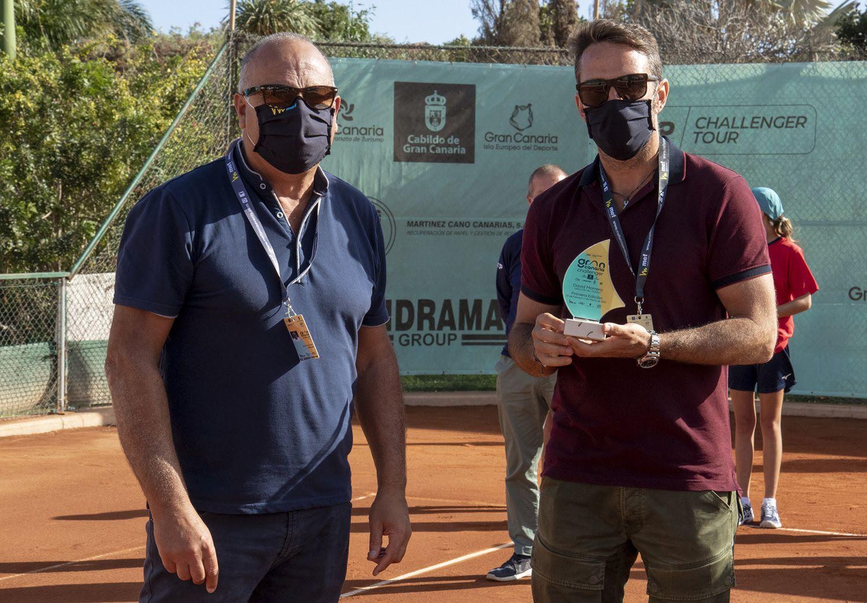 Marcello Marchesini e David Marrero - Foto Marta Magni/MEF Tennis Events