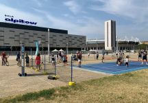 Tennis in piazza a Torino, al Pala Alpitour