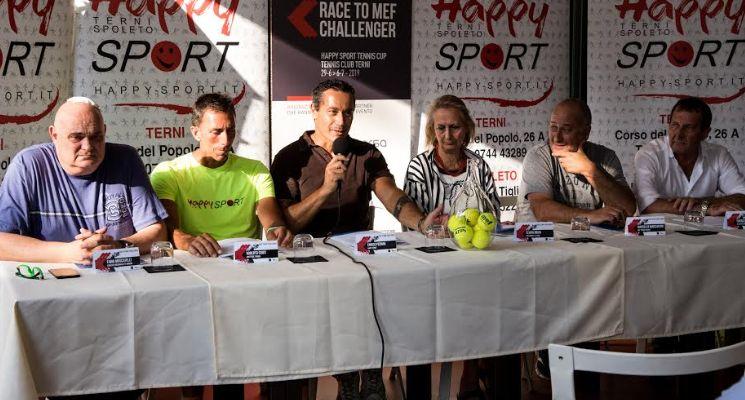 Presentato il torneo Race to MEF Challenger Terni. Setkic e Pavic ai nastri di partenza