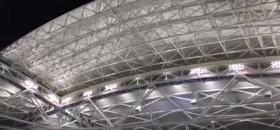 Per la prima volta si chiude il tetto durante il match tra Seppi e Nadal