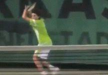Dominic Thiem in campo  quando aveva 13 anni (Video)