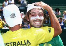 Davis Cup: La felicità di Jordan Thompson