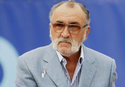 Ion Tiriac nella foto