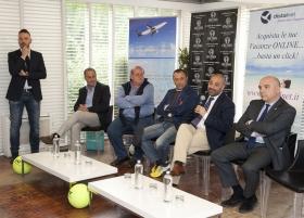 Gli Internazionali di tennis dell'Umbria sono già da record (Foto Nicola Rosati).