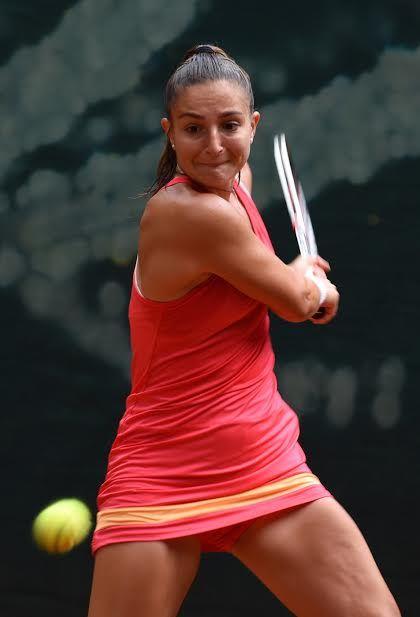 Beatrice Torelli, 19enne di Sassuolo, è stata sconfitta all'esordio dalla cilena Seguel - Foto Game
