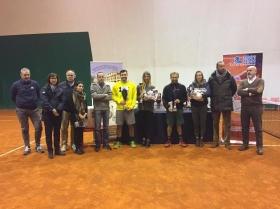 I vincitori ed i finalisti del torneo Open di Natale