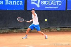 Andrea Trapani sconfitto al secondo turno